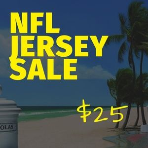NFL JERSEY SALE! ALL JERSEYS ARE $25